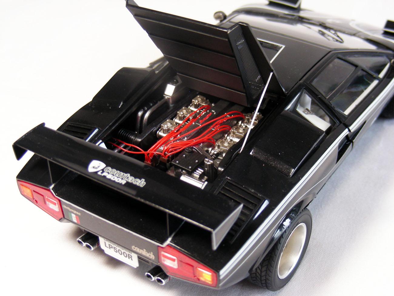 ランボルギーニ・カウンタックLP500Rエンジン